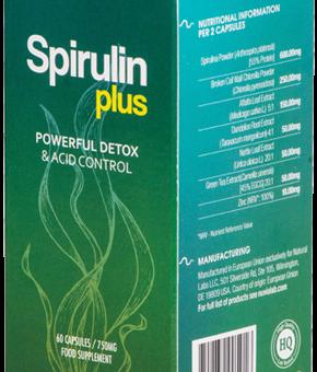 Spirulin Plus- Efektywny detoks bez morderczych diet? Skuteczne odkwaszanie organizmu bez katorżniczych poświęceń? Tak, to realne!