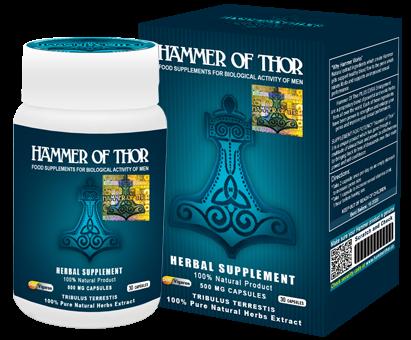 Hammer of Thor – wspaniały produkt, który poradzi sobie z każdym zaburzeniem wzwodu.