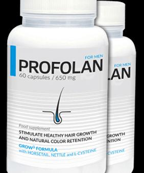 Profolan – Zahamuj wypadanie włosów i wesprzyj ich odbudowę.